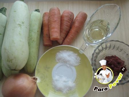 рецепт приготовления кабачковой икры острой