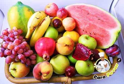 Как готовить фрукты в пароварке